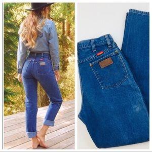 Vintage 70's-80's Wrangler High Waist Jeans 11/12